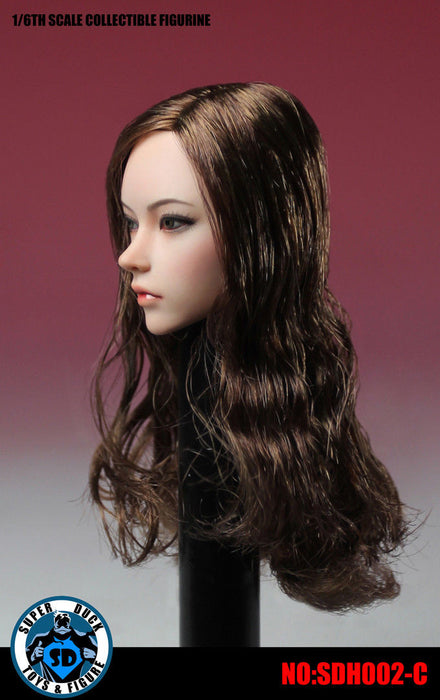 1/6 Scale SUPERDUC  Female Head Sculpt SDH002 #Pale