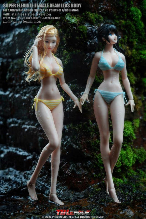 In-stock 1/6 TBLeague Anime Girls S36 S37 Pale Seamless Figure (w/ head)