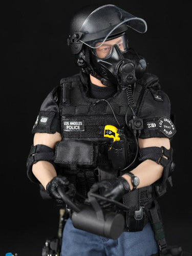 1/6 DID MA1008 LAPD SWAT 3.0 Takeshi Yamada Policaman Male Figure NIB IN STOCK