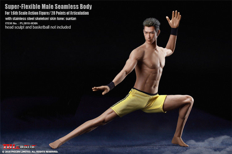In-Stock 1/6 Scale M36A TBLeauge M36A Male Seamless Body PL2018-M36A BW/Neck 12in figure
