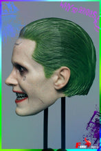 1/6 Head sculpt for Arkham Asylum Joker Jared Leto Suicide Team Super-Villian Body Fire Toys