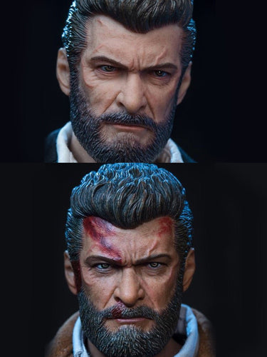 In-Stock 1/6 Scale ONE TOYS Head Sculpt Logan Wolf 2 Ver. X-MEN
