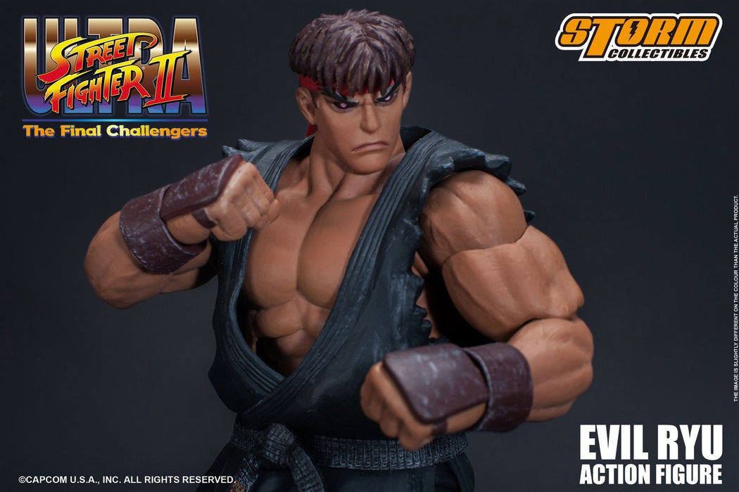 Pre-order 1/12 Storm Toys Ultra Street Fighter II: Evil Ryu Action Figure