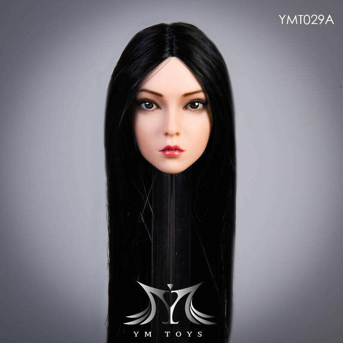 "In-stock 1/6 YMTOYS ""Rose"" Female Head Sculpt YMT029 H#Suntan"