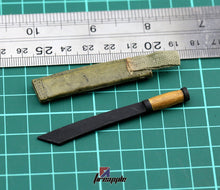 1/6 Scale DID Military Accesssories Jungle Knife PVC