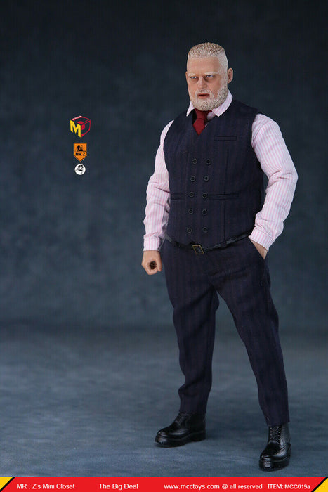 In-stock 1/6 Scale Mr. Z's mini Closet The Big Deal Action Figure MCC019