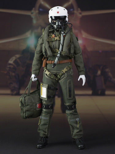 In-stock 1/6 onesixth Flagset FG-73006 Female Pilot Action Figure