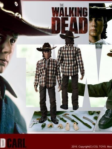 CGL TOYS MF06 1/6 The Walking Dead Carl  Grimes 12'' action figure toys