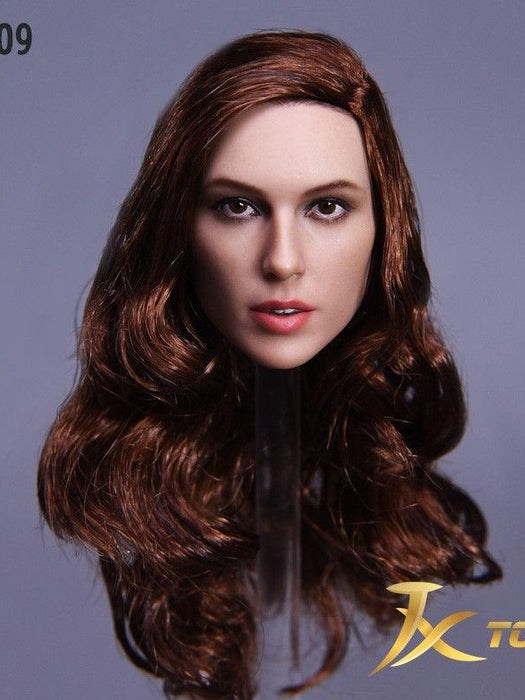 JXtoys 1/6 Gal Gadot wonder woman head sculpt without Tiara