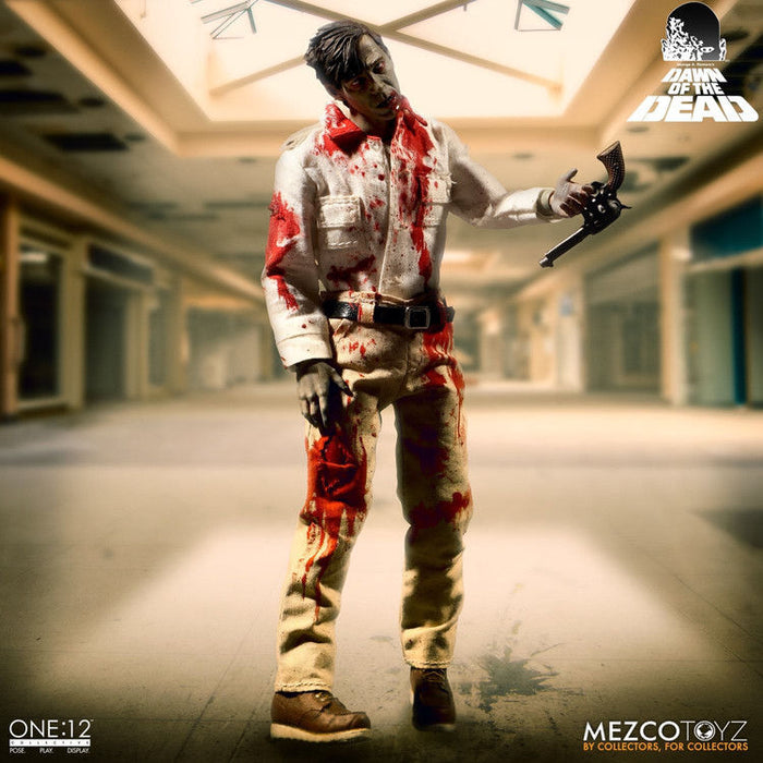 In-Stock 1/12 Scale  Mezco Toyz 76800 6.5 inch DAWN OF THE DEAD Action Figure