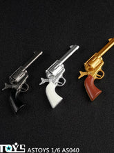 In-stock 1/6 Scale ASTOYS AS040 Colt P18520 Cowboy Revolver Weapon