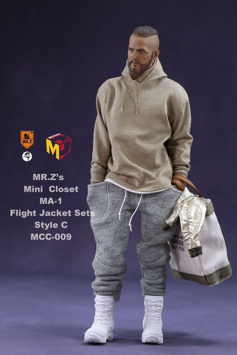 In-stock MCCToys Mr.Z's Mini Closet 1/6 MA-1 Flight Jacket Set