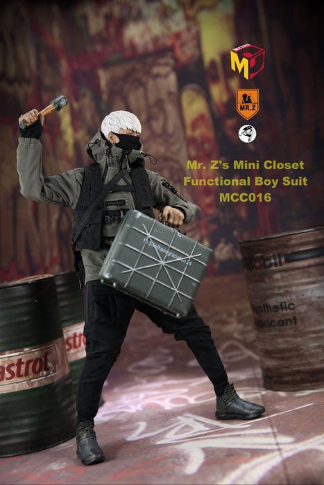 In-Stock 1/6 Scale MCCToys x Mr. Z Mini Closet Functional Boy Suit MCC015~017