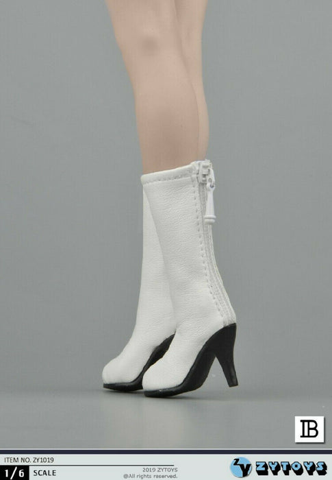 In-stock 1/6 Scale ZYTOYS ZY1019 Hollow Mid-calf Boots Accessories