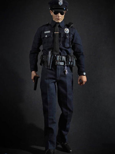 In-Stock 1/6 scale DID MA1009 US Patrol policeman