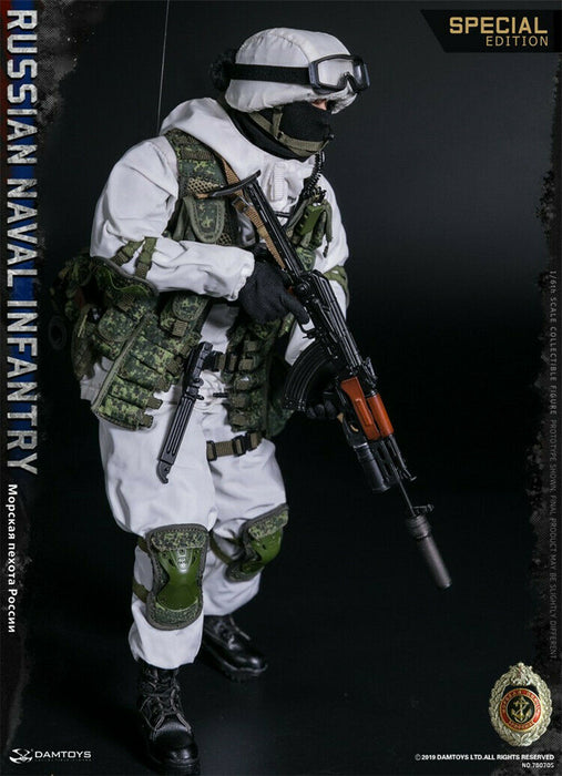 In-stock 1/6 DAMTOYS RUSSIAN NAVAL INFANTRY 78070S Special Action Figure
