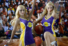 1/6 Maestro Studios MSS002 Laker Girl Cheerleader Female Clothes Set