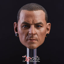 In-Stock 1/6 Scale Linkin Park Chester Bennington Head Sculpt R.I.P. HW/O Neck