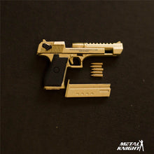 METAL KNIGHT 1/6 Scale Full Metal Desert Eagle Pistol Replica Model Detachable