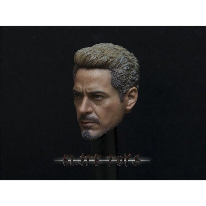 In-Stock 1/6 ELITE TOYS Tony Avengers 3 Head Sculpt