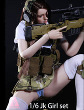 In-Stock ARMSHEAD 1/6 JK Female Clothes Set Combat Full Set