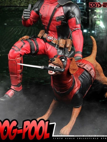Dog-Pool 1/6 Scale Toys Era TE014 Collectibles Statue Deadpool