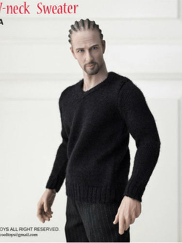 VERYCOOL VCM2008 1/6 Scale Black Male Knitted Sweater