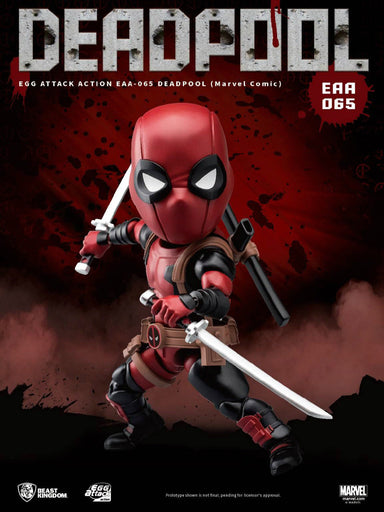 In-stock  1/12  6'' Beast Kingdom Egg Attack Edition EAA-065 Deadpool