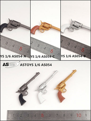 In-stock 1/6 Scale ASTOYS AS054 Long-tube Colt Weapon For Toy Figures (Not Real)