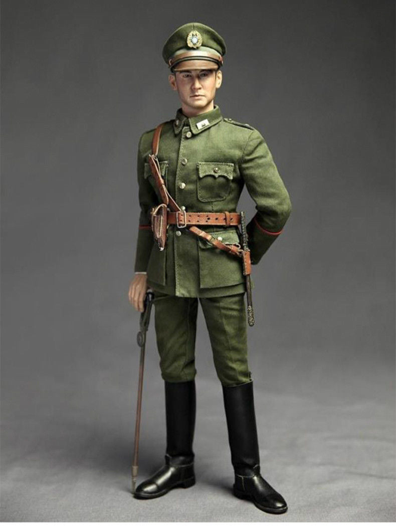 Wml 1 6 Scale Ww2 General Zhang Lingpu Action Figure Collectible