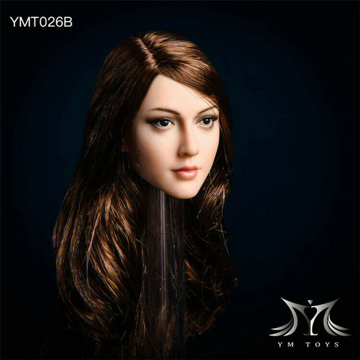 In-stock 1/6 YMTOYS YM026 Anna Head Sculpt H#Suntan