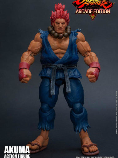 IN-STOCK 1/12 Storm Toys STREET FIGHTER V ARCADE EDITION AKUMA