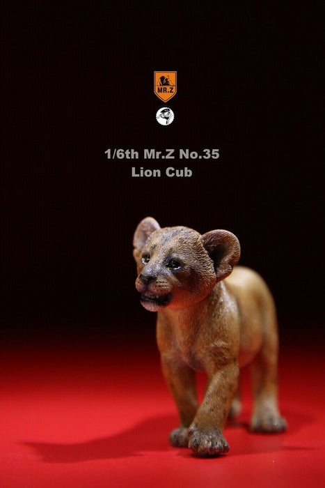 In-stock 1/6 Scale Mr.Z MRZ035 Mandrillus Sphinx & Lion Cub Set