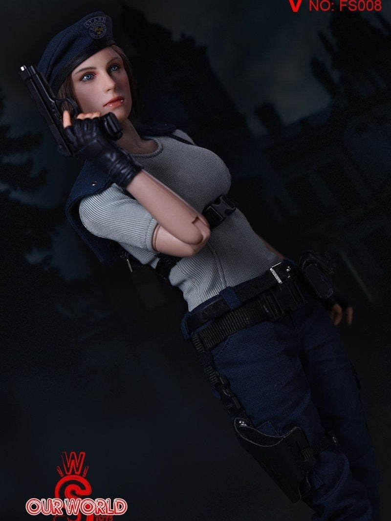 New Arrival sw our world 1/6 Resident Evil Jill Valentine Figure Full Set