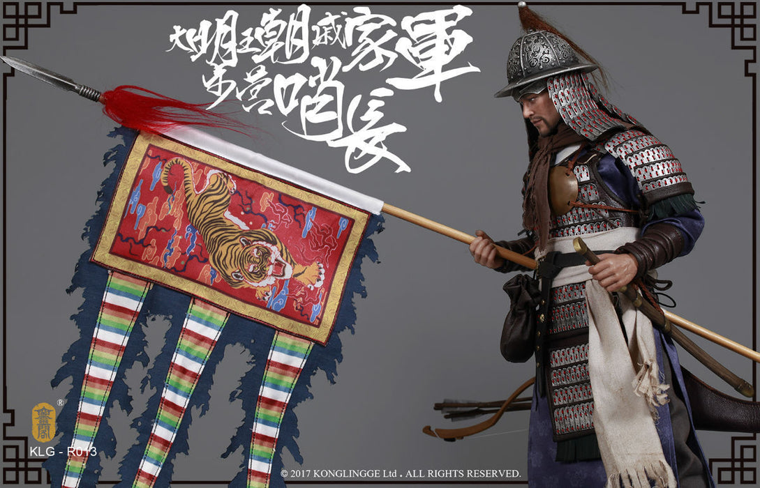 Pre-order KonglingPavilion 1/6Ming Dynasty SeriesQi troop walk camp guard leader
