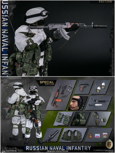 Pre-order 1/6 DAMTOYS RUSSIAN NAVAL INFANTRY 78070S Special Action Figure