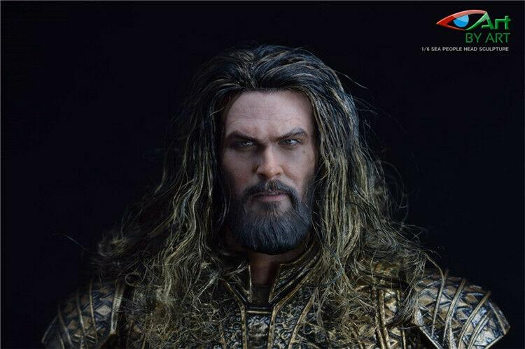 Pre-order 1/6 BY-ART BY-T3 / BY-P4 Head Sculpt & Spear King Of The Sea JP#4