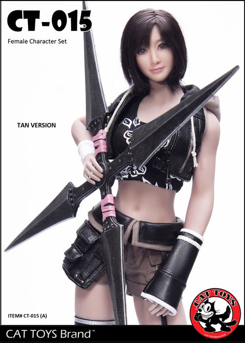 In-stock 1/6 Scale CAT TOYS CT015 Combat Girl Custom Kit (With S16A Body)