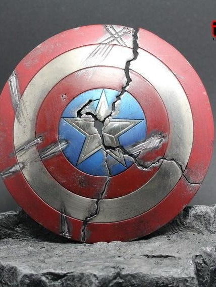 1/6 Captain America Steve Rogers Metal Shield Prop for one-sixth scale scene Special release