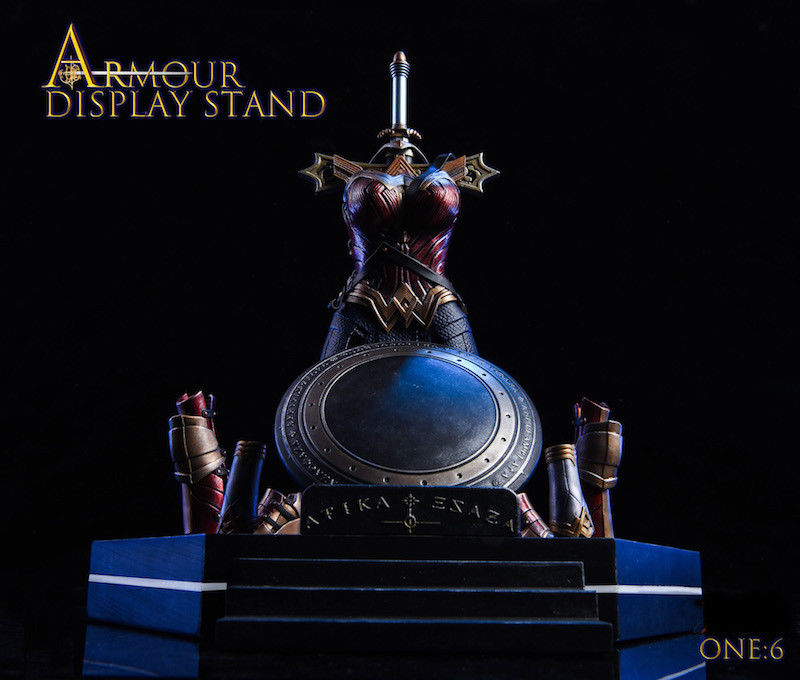 Pre-order 1/6 Scale TYSTOYS Armour Display Stand Amazon Goddess SJT-A,B,C