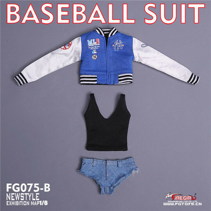 In-stock Fire Girl FG075 Baseball Suit Female Clothes