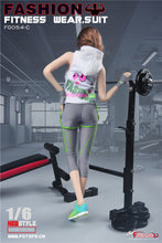 In-Stock Fire Girl Toys 1/6 Scale FG054 Female Fitness Suit Clothes Set