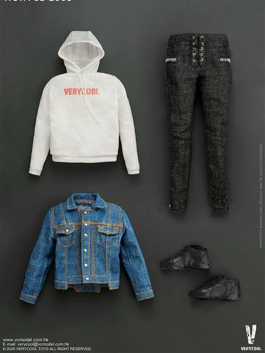 Pre-order 1/6 VERYCOOL VCL-1005 Denim Leisure Set