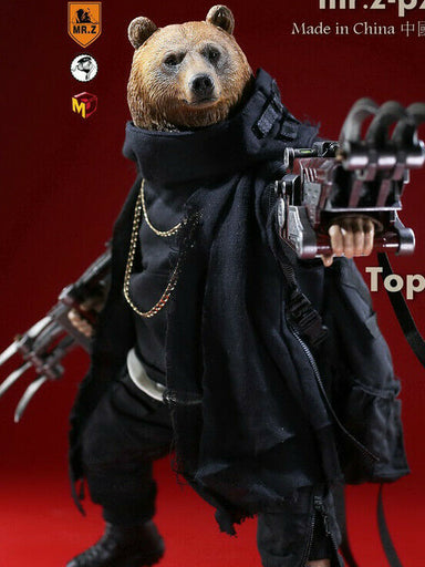 "In-stock 1/6 Scale 7"" Pocket Zootopia Collection-Series NO.3 TOP BEAR"