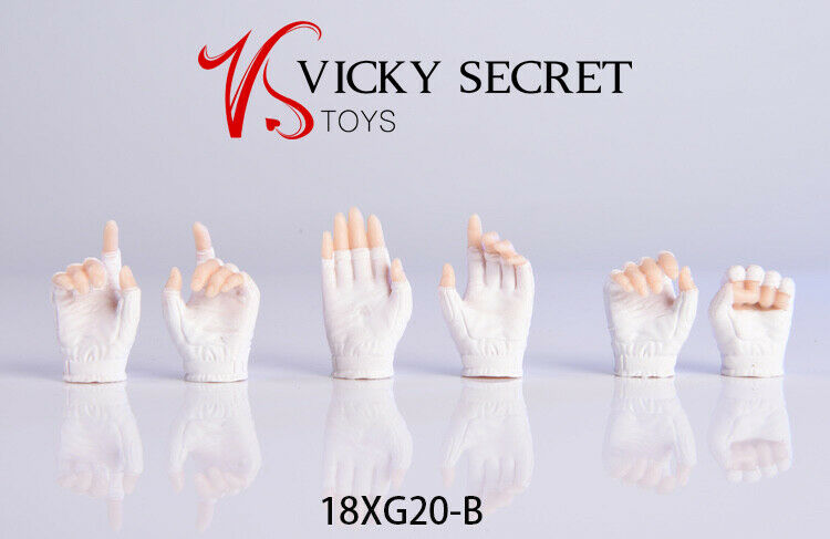 In-stock 1/6 Scale 18XG20 Phicen/TBLeague Gloved Hands 2.0