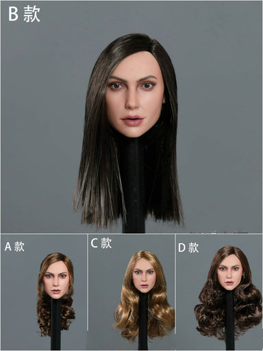 Pre-order 1/6 Scale GACTOYS GC034 Gal Gadot Head Sculpt