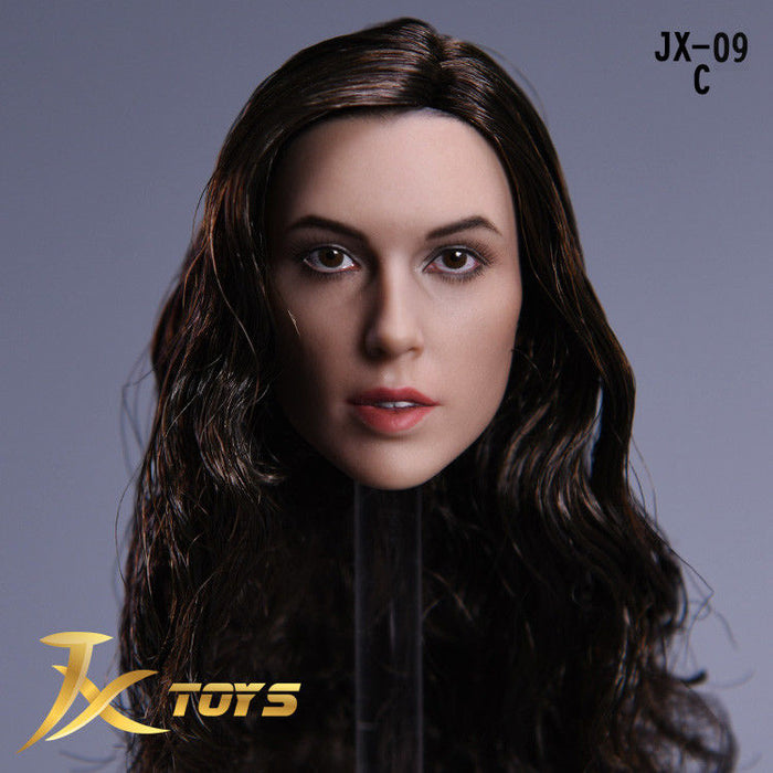 In-stock JXtoys 1/6 JX-09 Wonder Diana Gal Gadot Head Sculpt Female Figure Custom Phicen