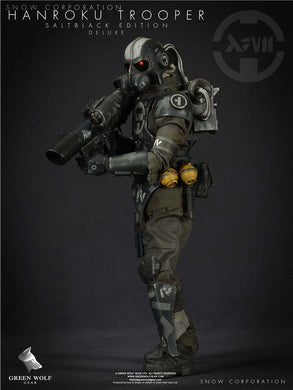Pre-order Green Wolf ES 1/6 HANROKU TROOPER SALT BLACK EDITION (DELUXE VER)