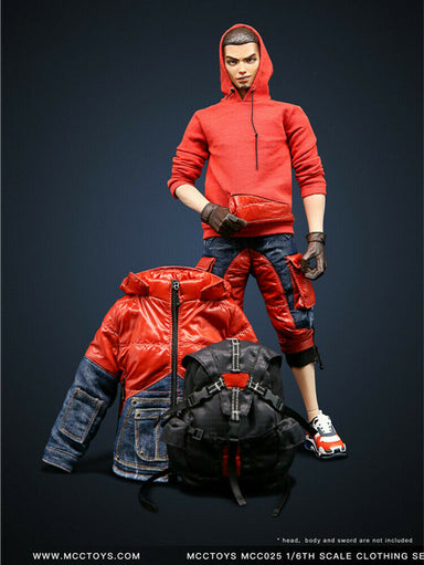 Pre-order 1/6 MCCTOYS down jacket fasion clothes set