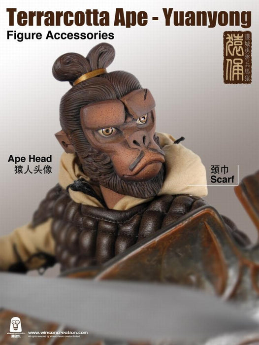 In-stock 1/6  Wilson Classic Terra Cotta Ape Yuanyong Action Figure